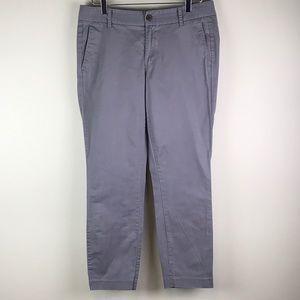 J. Crew Grey Frankie pants size 10
